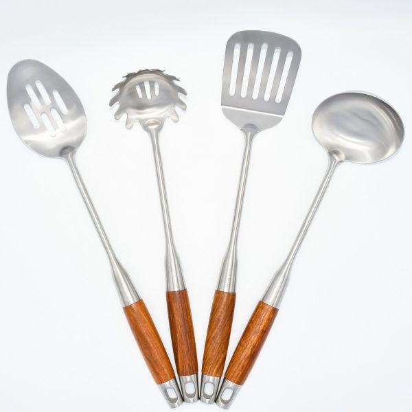 4-piece 304 Stainless Steel Kitchen Utensils Set