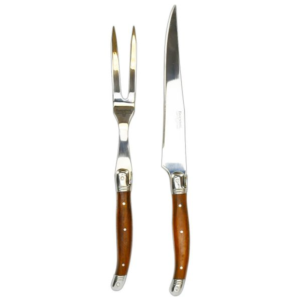 Carving Set 2pc - Rosewood