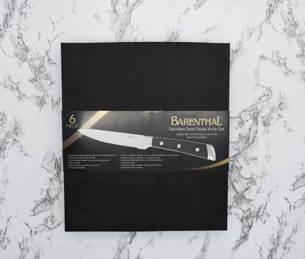 Steak Knives 6pc Set – German Stainless Steel